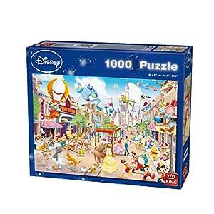 King - Puzzle La Parade Disney 1000 pièces: Amazon.fr