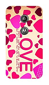 SWAG my CASE PRINTED BACK COVER FOR MOTOROLA MOTO E2 Multicolor
