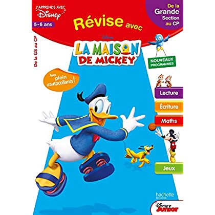 Révise avec Mickey - De la GS au CP - Cahier de vacances