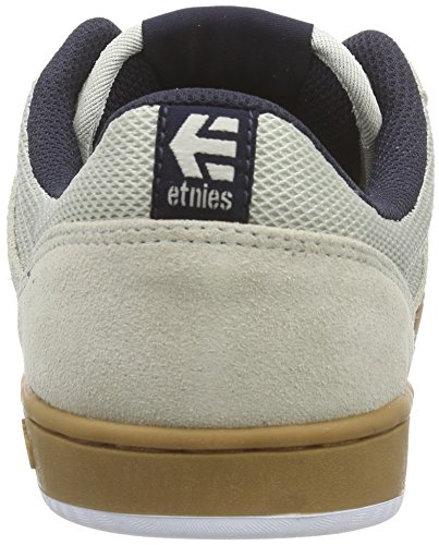 Etnies - Marana, Scarpe da Skateboard Uomo Bianco (Weiß (153/WHITE/NAVY/GUM))