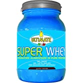 Super Whey - Proteine Del Siero Del Latte Isolate E Microfiltrate – Whey purissime - Integratore Di Proteine con Leucina. Vitamine B2,B6 ed enzimi – Gusto Cacao – 700 g – Ultimate Italia - 51dNKnqi wL. SS166