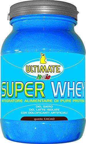 Ultimate italia super whey 700c proteine del siero del latte isolate - 700 gr