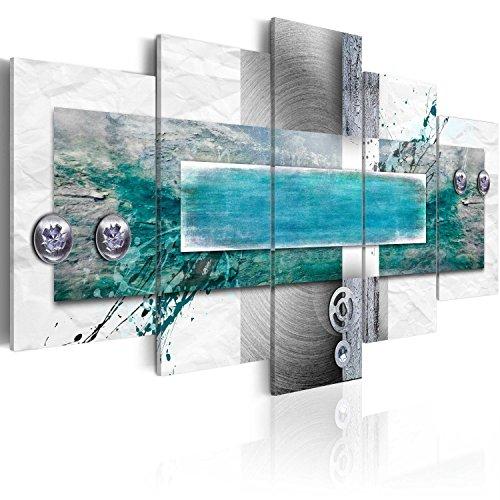 murando - Bilder 100x50 cm Vlies Leinwandbild 5 tlg Kunstdruck modern Wandbilder XXL Wanddekoration Design Wand Bild - Abstrakt 020101-195