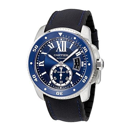 Cartier Kaliber Diver Automatik Herren Armbanduhr wsca0010