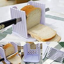Kitchen pro - Cortador de pan, herramienta de guía de corte ajustable, multifuncional