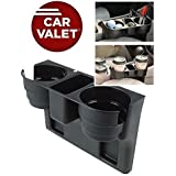 SNAPCOM Plastic Car Valet Instant Tray Organizer Multi-Function Vehicle Tool