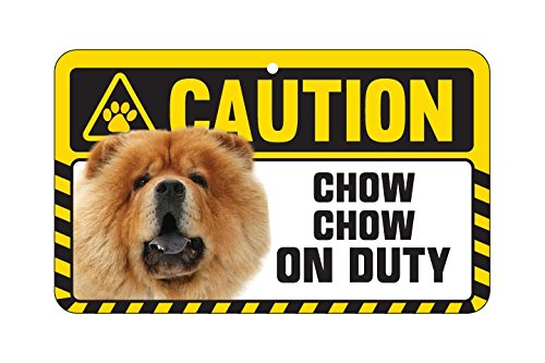 attention-plaque-chow-chow-chow-chow