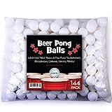 Sportly Bière Pong Balles, 38mm, lot de 144