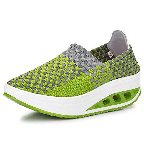 Mesdames respirantes secoua chaussures/Chaussures hautes/Version coréenne d'armure chaussures D