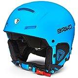 Briko Faito, Casco da Ski Unisex – Adulto, 966L013/Matt/Light/Blue, XL