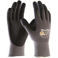 5 pares MaxiFlex Ultimate - guantes de nylon y espuma de nitrilo, Tamaño:8 (M)