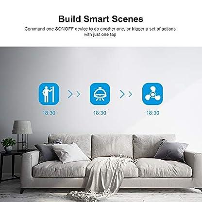 SONOFF iFan03 WiFi Interruttore Controllore per Ventilatori da Soffitto con Luce,APP& RF per Controllo Remoto, è Compatibile con Amazon Alexa e Google Home …