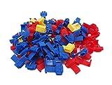 Grapelet Set : 100 Abzweigverbinder 50 x Blau - 40 x Rot - 10 x Gelb