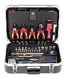 Projahn Elektro Werkzeugkoffer 128-teilig 8683