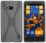 mumbi X-TPU Schutzhülle für Nokia Lumia 930 Hülle transparent schwarz