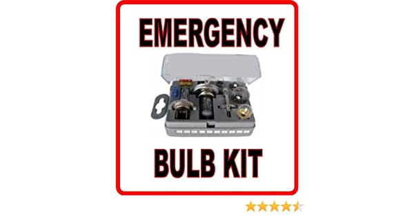 SPARE BULB KIT H1 H4 H7 for YAMAHA 1300cc SP,FJR1300