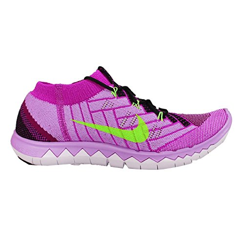 Nike Free 3.0 Flyknit Damen Laufschuhe BLACK/FLASH LIME-RASPBERRY RED-FUCHSIA F XjPtY0