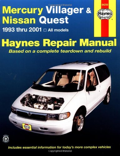 mercury-villager-and-nissan-quest-automotive-repair-manual-1993-to-2001-haynes-service-and-repair-ma