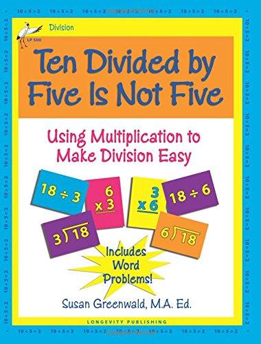 Five Is Not Five, mit Multiplikation für einfaches Aufteilen, 10 Stück