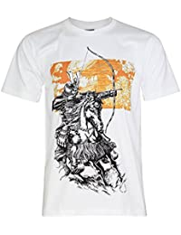 PALLAS Unisex's Japan Samurai Warrior Cotton T-Shirt