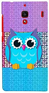 PrintVisa Girly Pattern Owl Case Cover for Xiaomi Redmi