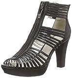GERRY WEBER Shoes Ella 16, Damen Kurzschaft Stiefel, Schwarz (schwarz 100), 38 EU
