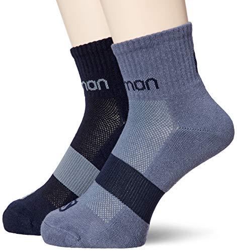 Preisvergleich Produktbild Salomon Evasion 2-Pack 2 Paar Niedrig geschnittene Socken,  blau (Night Sky),  Gr. L (42-44)
