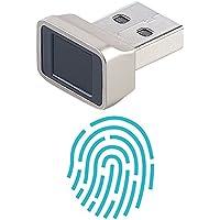 Xystec Fingerabdruckscanner: Finger-Abdruck-Scanner für Windows 7, 8, 8.1 & 10, mit 360°-Erkennung (Fingerabdrucksensor)