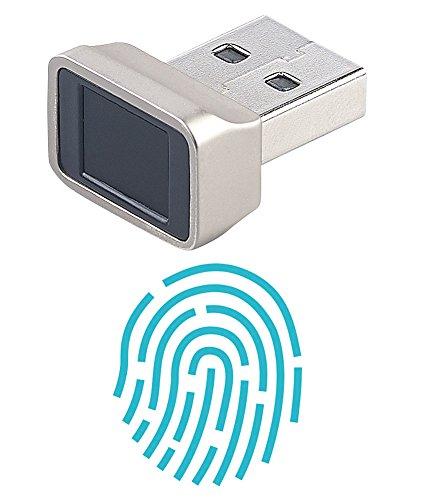 Xystec Fingerabdruckscanner: Finger-Abdruck-Scanner für Windows 7, 8, 8.1 & 10, mit 360°-Erkennung (Fingerscanner) - Scanner Windows