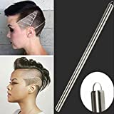 patzbuch Haar Gravur, professionelle Pen Rasierer Bart Haar Design Hair Tattoo Razor Rand Styling Augenbrauen Barber