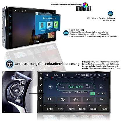 Tristan-Auron-BT2D7018A-Autoradio-mit-Navi-7-Touchscreen-Bildschirm-Android-81-GPS-Navi-Bluetooth-Freisprecheinrichtung-Quad-Core-MirrorLink-USBSD-OBD-2-DAB-2-DIN