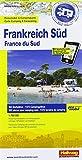 Frankreich Süd: Stellplatzkarte, 850 Stellplätze, 1:700 000, Karte Fotos Plätze all in one, Mit kostenlosem Download für Smartphone ... Websites (Hallwag Strassenkarten Promobil) -