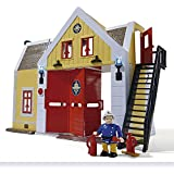 Sam El Bombero - Estación de bomberos con figura de oficial (Simba 9251062)