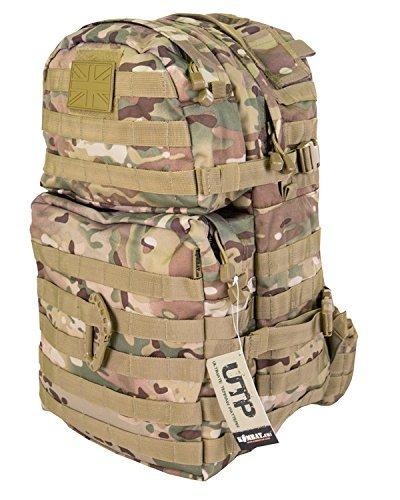 Kombat British Army Militär-Rucksack Tactical Molle Bergen L 40 L, Multicam, UTP) Surplus -