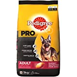 Pedigree PRO Expert Nutrition Active Adult Dogs (18 Months Onwards) Dry Dog Food, 3kg Pack