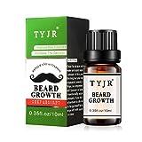TAOtTAO - Aceite esencial para crecimiento de la barba con bigote hidratante, cuidado de los caballeros, 10 ml