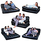 S K Air Sofa Bed 5 in 1 Inflatable Couch with Electric Pump