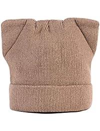 Constructs Mujeres Invierno Beanie Hat para Mujer Rusa Cálida Suave De Punto  Gorro De Mujer Gorritas Tejidas Orejeras Sombrero Lady… 5a2bee55db2