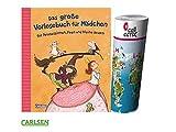 Carlsen Das große Vorlesebuch für Mädchen: für Prinzessinnen, Feen und kleine Hexen (Gebundenes Buch) + gratis Kinder Weltkarte