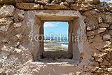 druck-shop24 Wunschmotiv: Fenster mit Meerblick #88553394 - Bild als Foto-Poster - 3:2-60 x 40 cm/40 x 60 cm