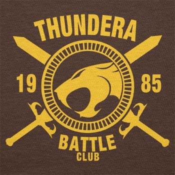 TEXLAB - Thundera Battle Club 1985 - Damen T-Shirt Braun ...