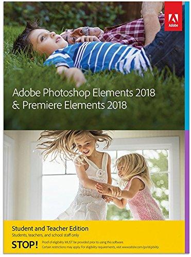 Adobe Photoshop Elements 2018 & Premiere Elements 2018 | STE | PC/Mac | Disc
