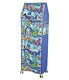 #5: Child Craft Multipurpose Blue Toy Box/Almirah - 5 Shelves