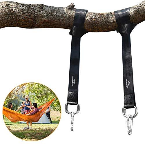 1coppia max 500kgs sicuro swing hanging strap kit set per appenderlo amaca amaca per altalene an impermeabile alberi fissaggio set 2x 150cm beste in fibra in poliestere con 2x premium moschettone