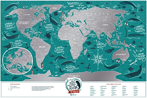 Scratch map online download travel pin map online with scratch map latest premium scratch places off poster x cm places iuve been travel map great world map gift for any traveler made from durable flexible plastic to with gumiabroncs Choice Image