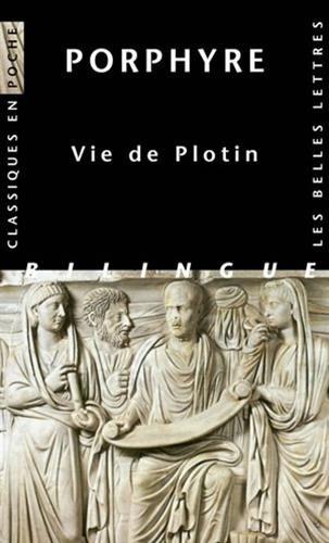 Porphyre, Vie de Plotin (Classiques En Poche) par From Les Belles Lettres