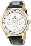 Tommy Hilfiger Herren Datum klassisch Quarz Uhr mit Leder Armband 1791386