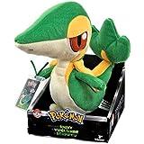 Pokemon t18035C6snivy–coleccionistas 20cm instructores elección Snivy de peluche con etiqueta de identificación.