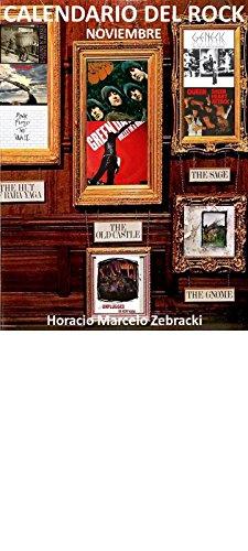 Calendario del rock: Noviembre por Horacio Marcelo Zebracki