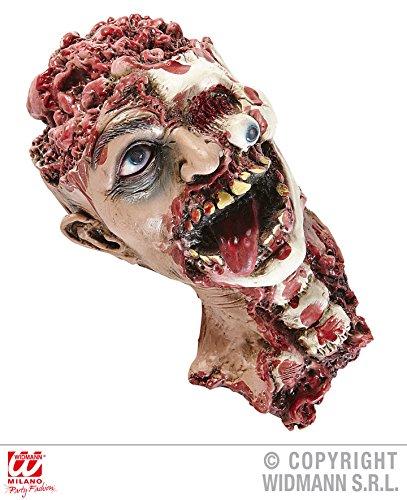 TISCHDEKO - ABGETRENNTER KOPF - , Halloween Deko Horror Skelett Figuren Leichenteile (Leichenteile Halloween)